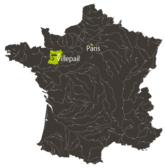 situation Granulats Expansés de la Mayenne