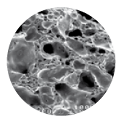 structure microporeuse du granulex