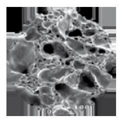 structure microporeuse